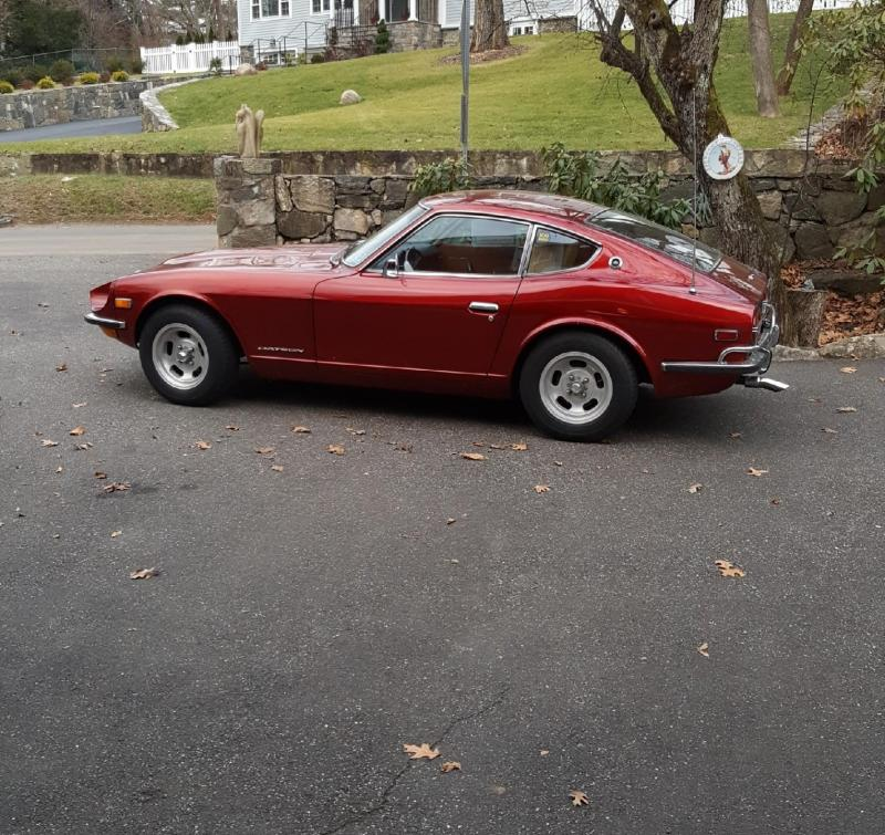 1972 DATSUN 240 Z 4 SPEED