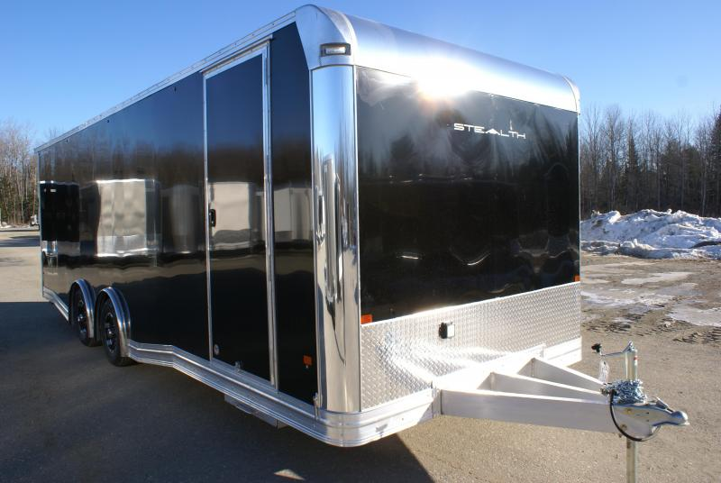SUPER SPECIAL 2021 Alcom-Stealth STEALTH 24 CH-LM Car / Racing Trailer
