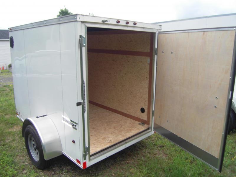 NEW Haulmark Transport 5x8 Enclosed Trailer