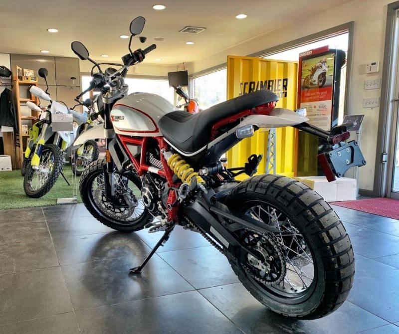 2020 Ducati Scrambler Desert Sled