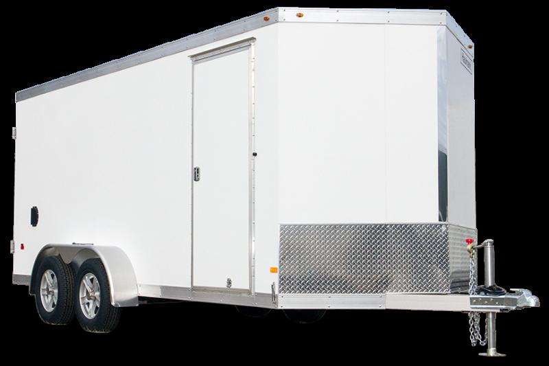 2020 ALL ALUMINUM HAUV7X16WT2 SNOWMOBILE Utility Trailer
