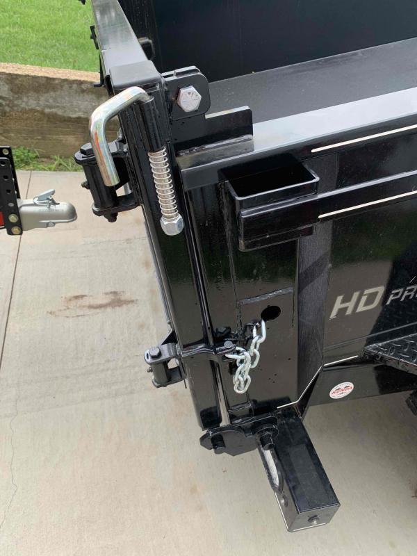 2021 Doolittle Trailer Mfg 7212DC 10K Dump Trailer