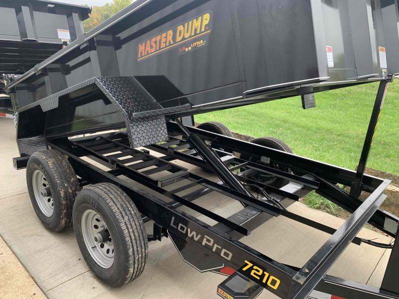 2021 Doolittle Trailer Mfg 7210DC 10K Dump Trailer