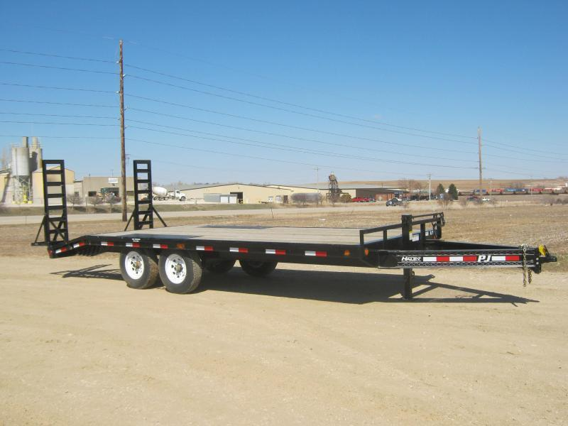 2020 PJ Trailers 20 I-Beam Deckover Equipment Trailer