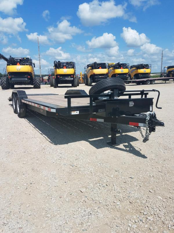 2018 H and H Trailer 18' BP Equipment Trailer