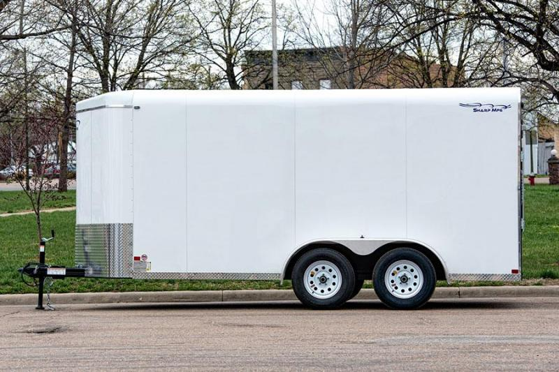 2019 Sharp 7x16 BP Enclosed Cargo Trailer