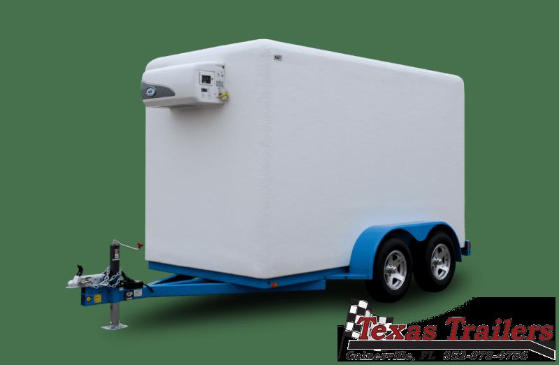 2021 Polar King Mobile PKM612 6X12 Freezer / Refrigerated Trailer