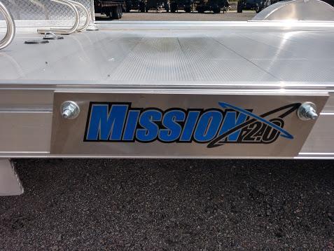 MOMC6.5X10-2.0 MISSION 6.5 X 10 ALUMINUM MOTORCYCLE TRAILER