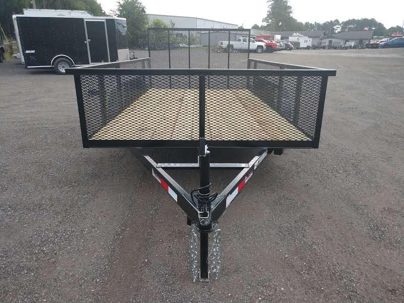 "LM61470 TEXAS TRAILERS 6'10""X14' LAWN MAINTENANCE TRAILER"