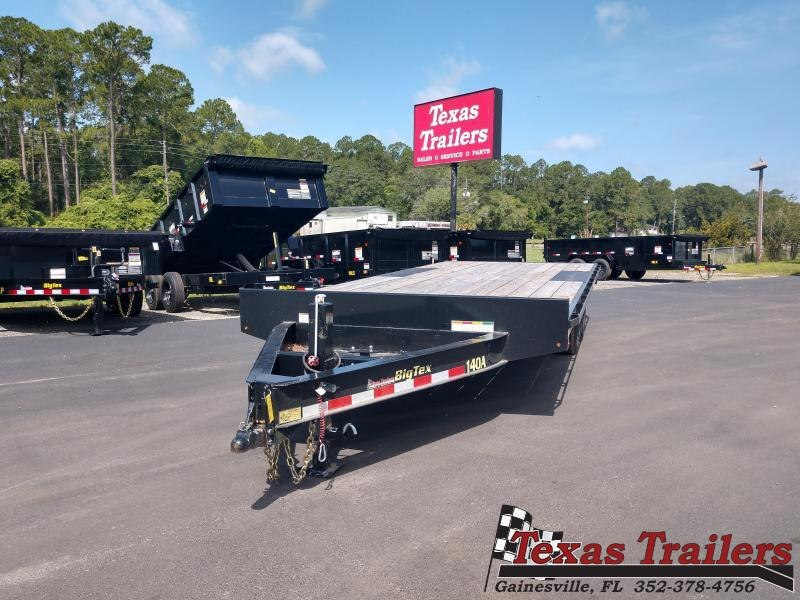 2018 Big Tex Trailers 14OA-20 HEAVY DUTY OVER-THE-AXLE BUMPERPULL TRAILER
