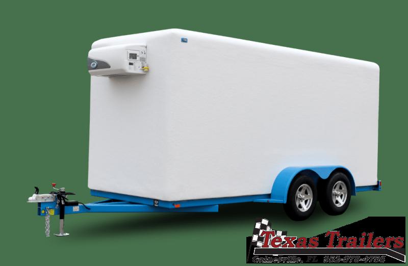 2021 Polar King Mobile PKM616 6X16 Freezer / Refrigerated Trailer