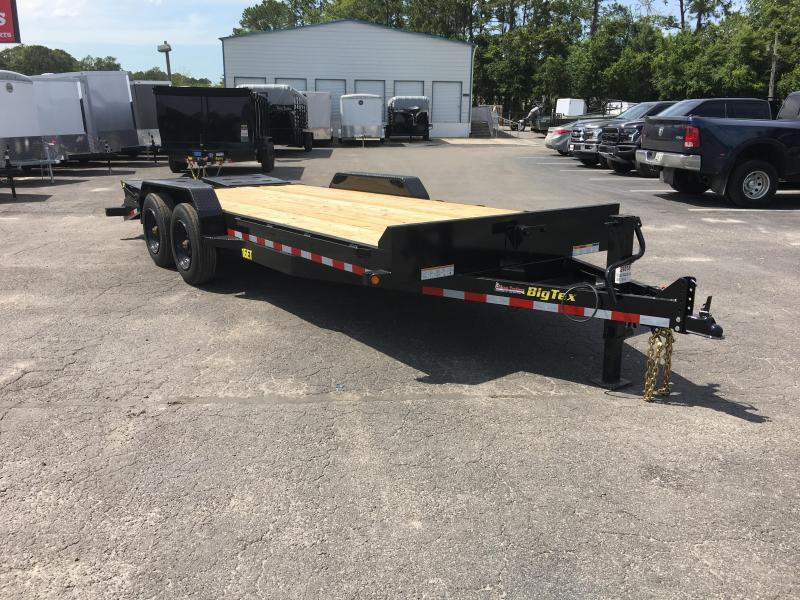 16ET-19+3MR BIG TEX EQUIPMENT TRAILER WITH MEGA RAMPS