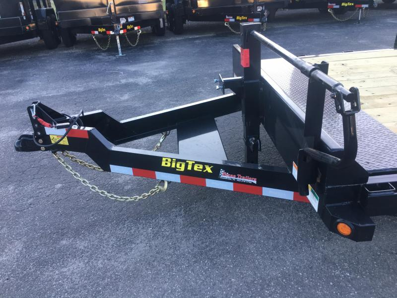 14FT-16BK BIG TEX 16' TANDEM AXLE FULL TILT DECK EQUIPMENT TRAILER