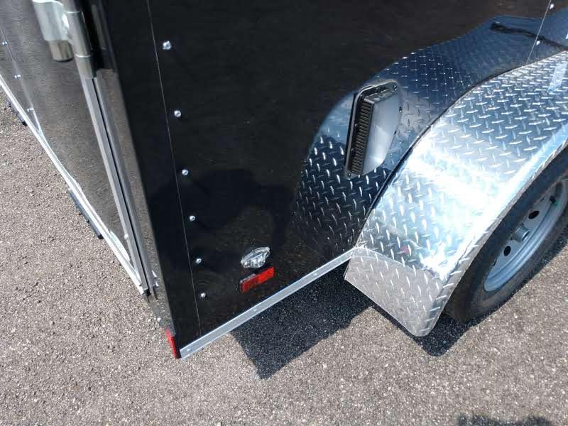 GANS612TA2 CARGO MATE 6 X 12 TANDEM AXLE ENCLOSED CARGO TRAILER