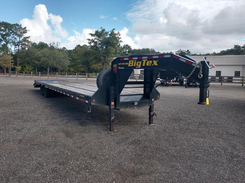 25GN-35BK+5MR BIG TEX 35' + 5' DUAL TANDEM DECKOVER FLATBED W/ 12K AXLES & LRG 14-PLY TIRES