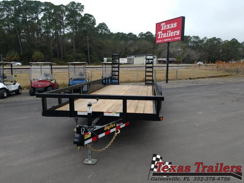2021 Big Tex Trailers 14PI-20BK5FUR Utility Trailer