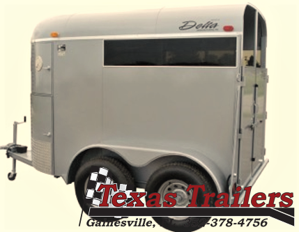 2021 Delta Manufacturing 500 Bronco Horse Trailer
