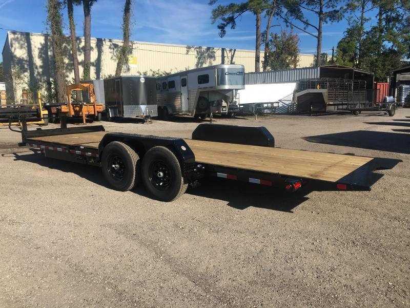 14TL-22BK BIG TEX 22' TANDEM AXLE TILT DECK EQUIPMENT TRAILER