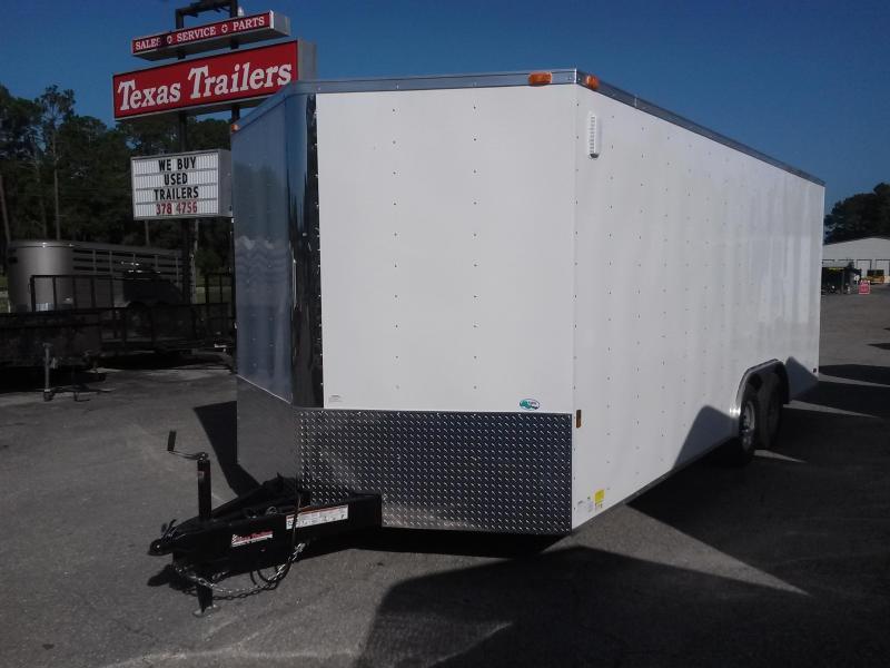 GANS8520TA3 CARGO MATE 8.5 X 20 ENCLOSED CAR HAULER W/ 5200# AXLES
