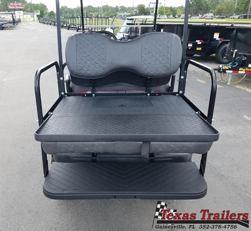 2016 Used Customized Yamaha Gas  YDRA JW8 Golf Cart