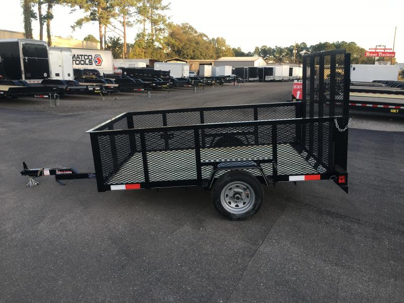 LM5820 TEXAS TRAILERS 5X8 LAWN MAINTENANCE TRAILER