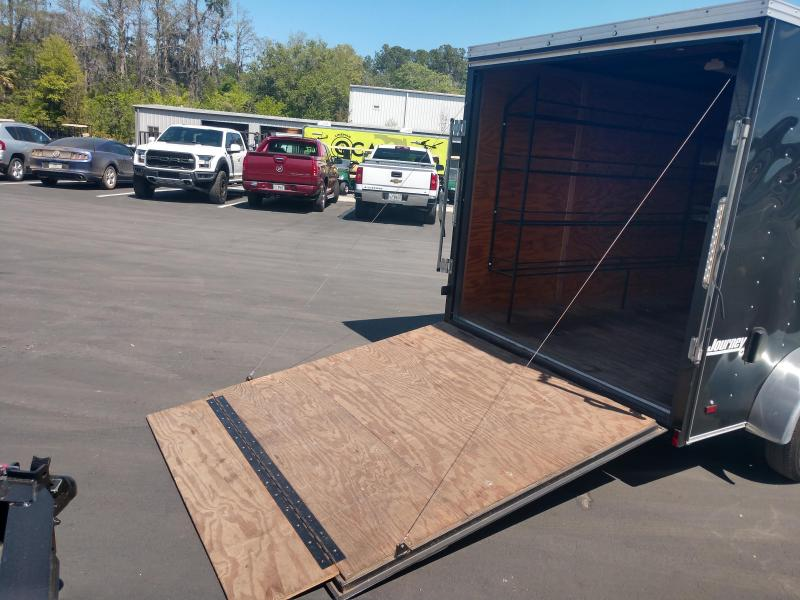 2015 Pace American JV712TA2 Enclosed Cargo Trailer