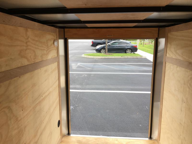 GANS58SA CARGO MATE 5 X 8 ENCLOSED CARGO TRAILER  W/ DOUBLE REAR DOORS