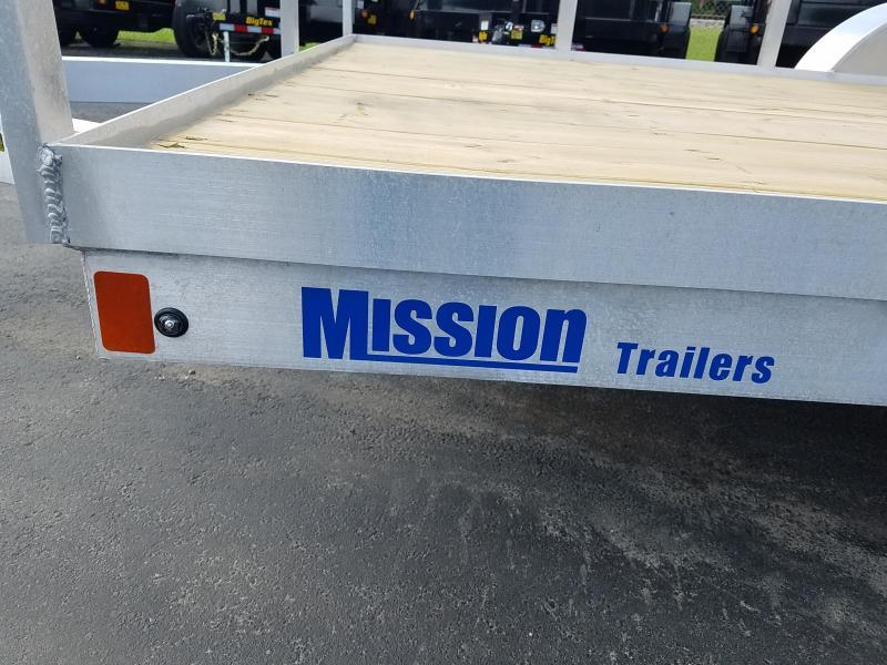 2020 Mission MU80X12WR2.0 Utility Trailer