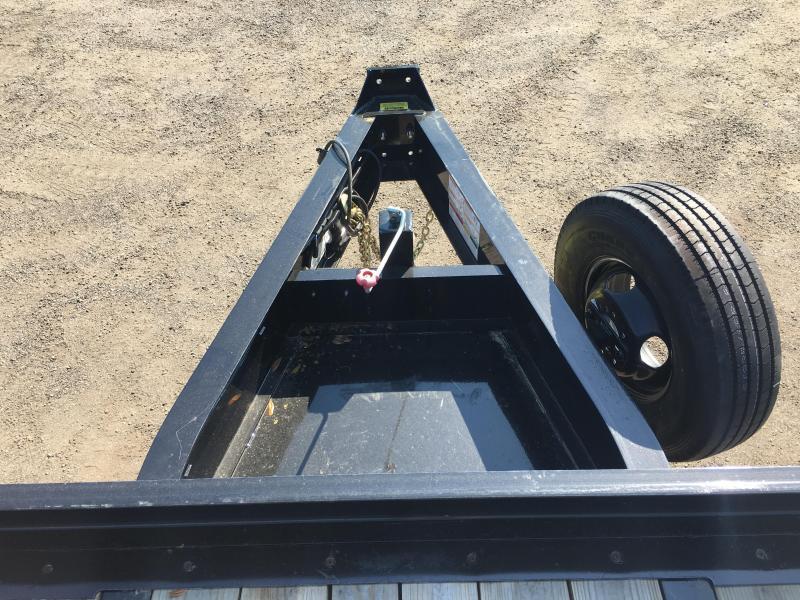 25PH-25BK+5 BIG TEX 30' FLATBED TRAILER W/ LOAD RANGE G 14-PLY TIRES