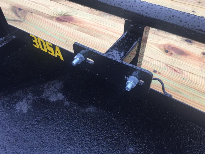 30SA-10BK4RG BIG TEX 5X10 UTILITY TRAILER W/ SPRING ASSISTED TAILGATE