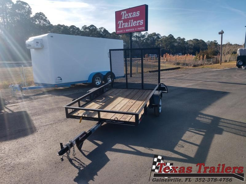 2016 Texas Trailers Used 5X8 Utility Trailer with Ramp Utility Trailer