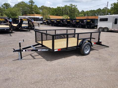 "LM61035 TEXAS TRAILERS 6'4"" X 10' LAWN MAINTENANCE TRAILER"