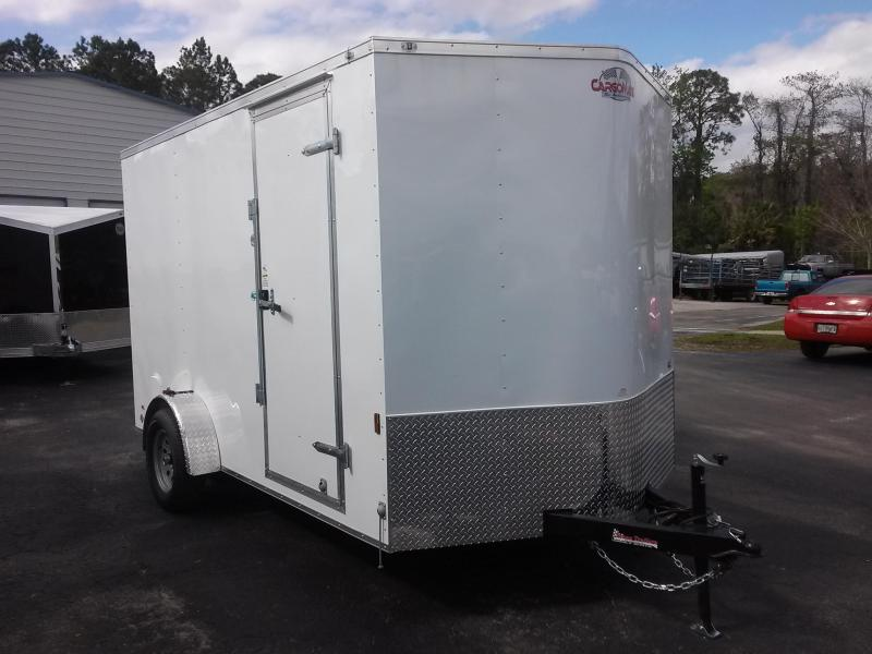 GANS712SA CARGO MATE 7 X 12 ENCLOSED CARGO TRAILER W/ 6'' EXTRA HEIGHT