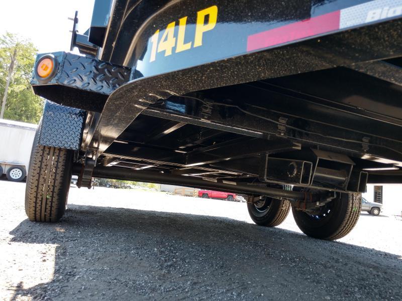 14LP-14BK6-P4 BIG TEX 7' X 14' DUMP TRAILER W/ TARP & 4' TALL SIDES
