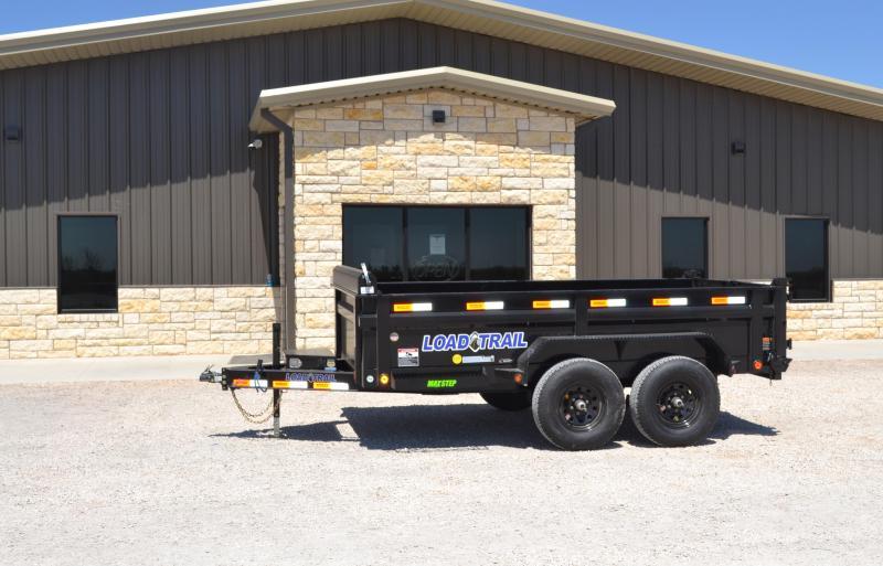 2020 Load Trail DT10 72 x 12 x 24in sides Dump trailer