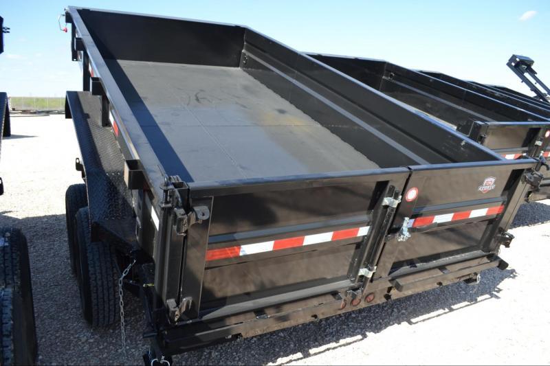 2021 Other 83 x 14 x 22 SIDES Low Pro Dump Dump Trailer