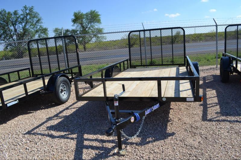 2021 Load Trail SB03 - Single Axle Landscape 77 x 12 Utility Trailer
