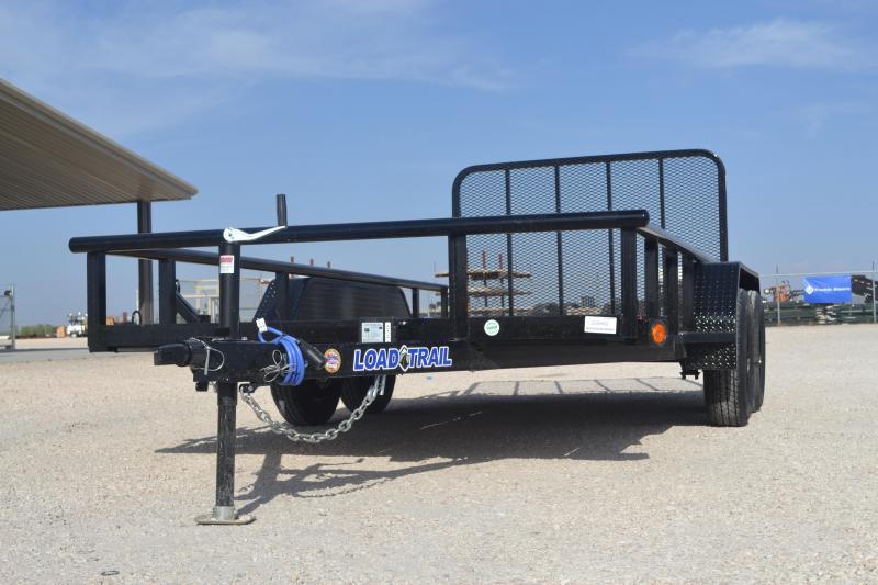 2020 Load Trail UE07 - Tandem Axle Utility 77 x 14 Utility Trailer