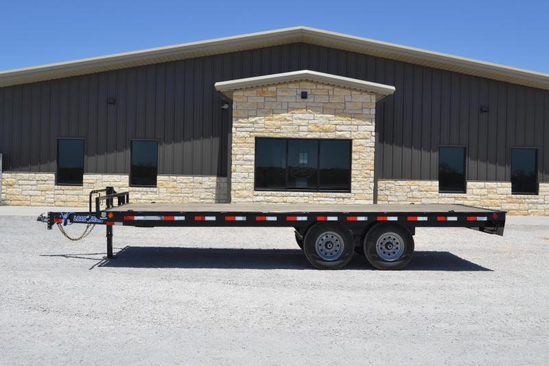 2020 Load Trail DK07 - Pintle Hook Deck Over 102 x 20 Equipment Trailer