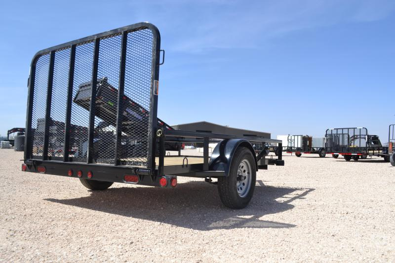 2021 Load Trail SB03 - Single Axle Landscape 77 x 10 Utility Trailer