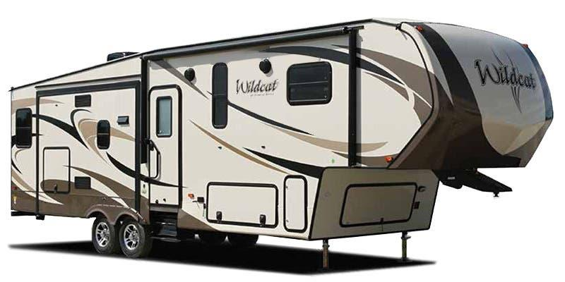 2020 Forest River 28SGX Wildcat Fifth Wheel Campers