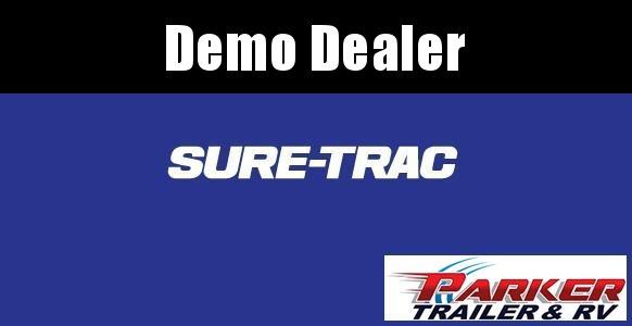 2021 Sure-Trac ST8212UA-B-030 Utility Trailer