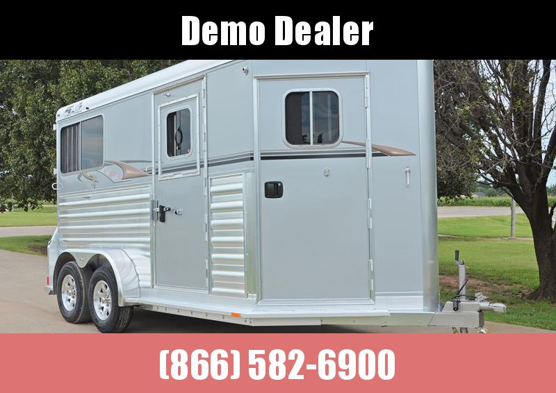 2022 4-Star Trailers 2 Horse Model - 12' x 7' Thoroughbred Enclosed Cargo Trailer