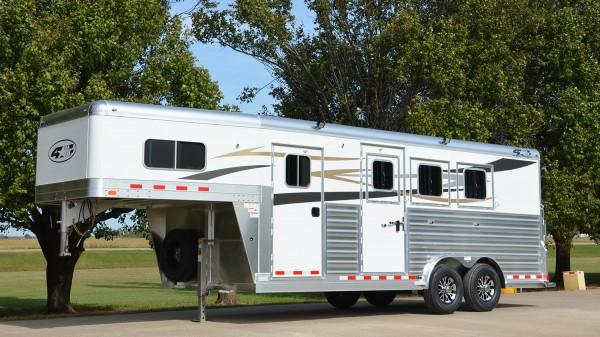 2021 4-Star Trailers 3 Horse Model - 18' x 7' Other