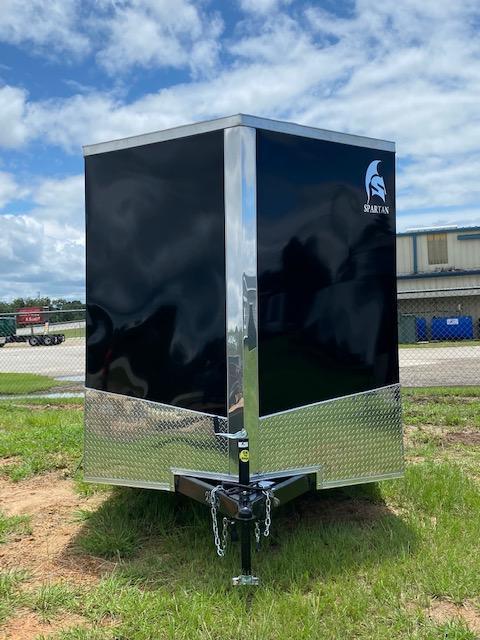 2022 Spartan Cargo 7x14 Ft Enclosed Cargo Trailer