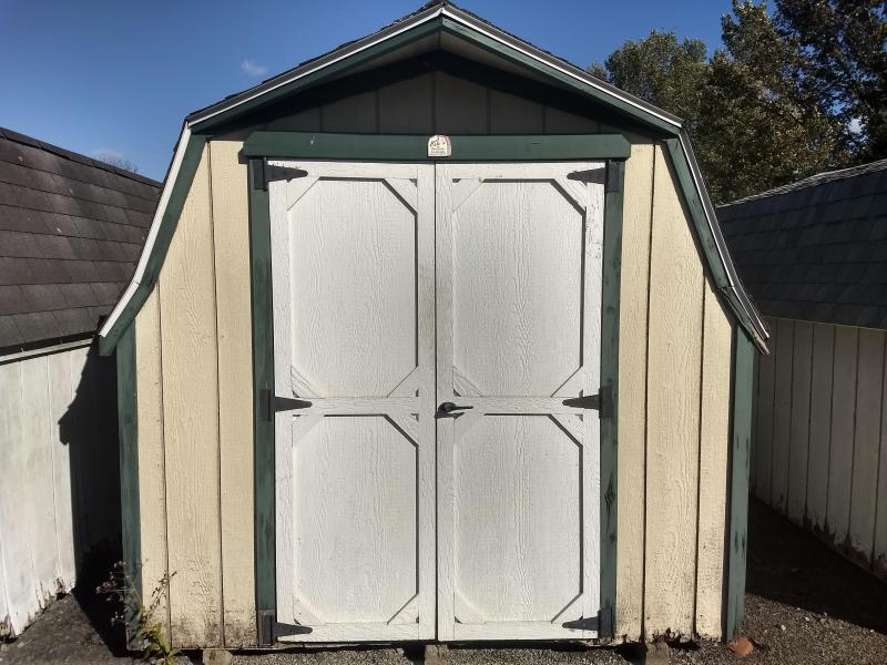 Used 8x12 Mini Barn