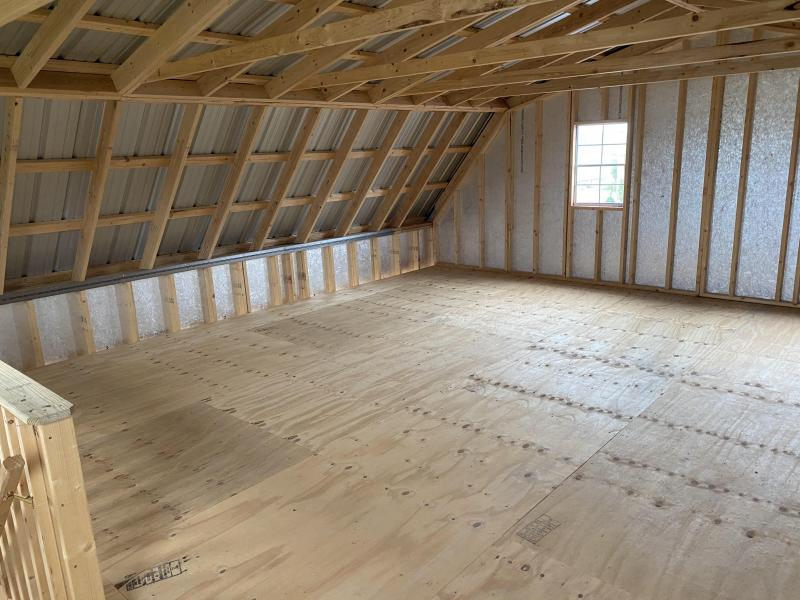 24x24 Two Story Double Wide Super Barn Garage