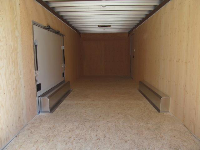 ATC 8.5 X 24 Raven Car Hauler w/ Premium Escape Door