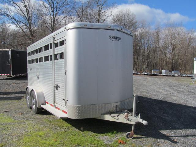 2007 Shadow Trailers 6.75 X 16 BP Stock Livestock Trailer
