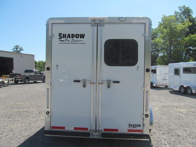 Shadow Trailers Pro Series 3 H Slant BP W/ DR Horse Trailer
